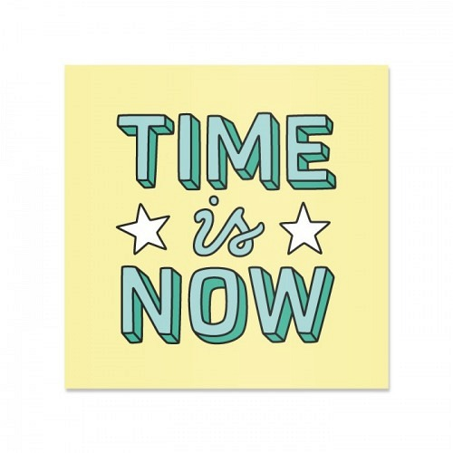 Sticker «TIMEisNOW»