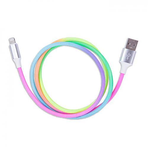 Charging cable Lightning «RAINBOW»