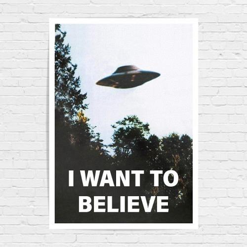 Poster «BELIEVE»