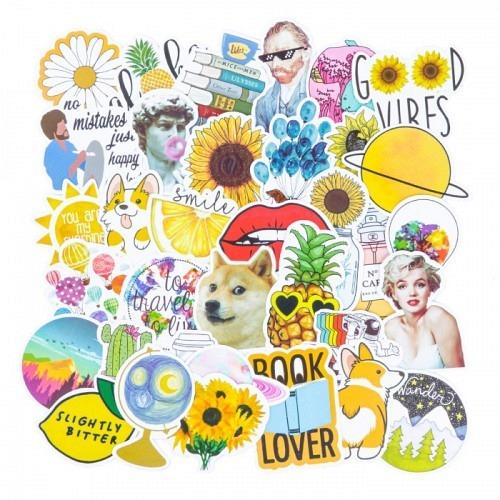 Sticker Set «YELL»