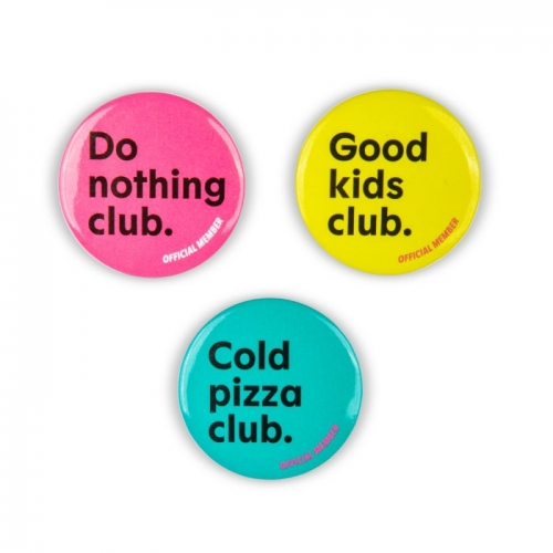 Button Set «GOODCLUB»