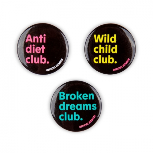 Button Set «BADCLUB»