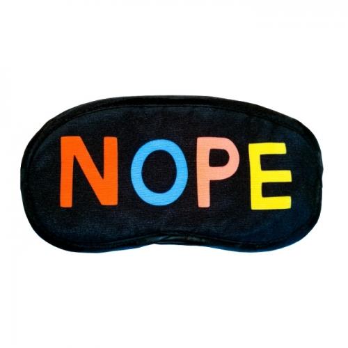 Sleep mask «NOPE»