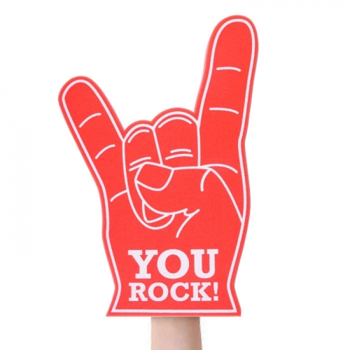 Fan Hand «YOU ROCK!»