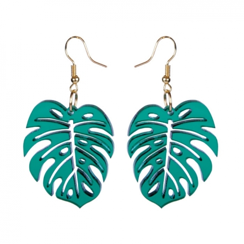 Earrings «MONSTERA»
