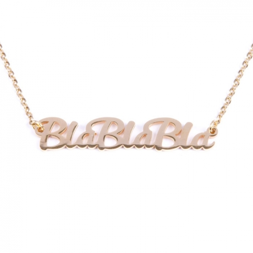 Necklace «BlaBlaBla»
