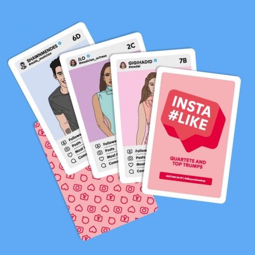 Card game «INSTALIKE»