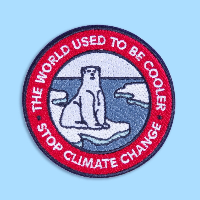 Patch «GLOBAL WARMING»