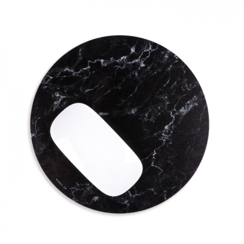 Mouse mat «BLACK MARBLE»