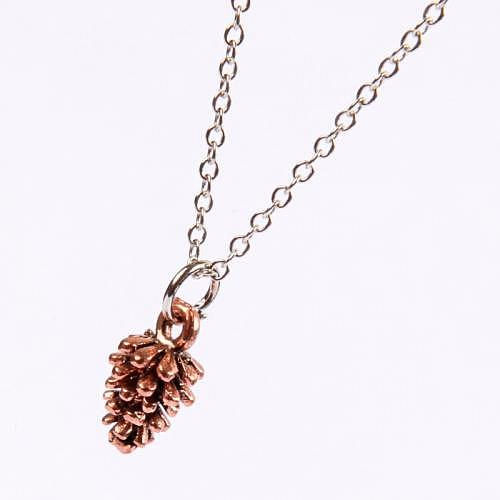Necklace «PINE CONE»
