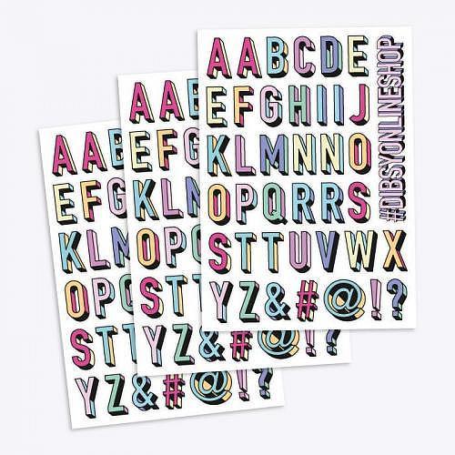 Mini Sticker Set «ATOZ»