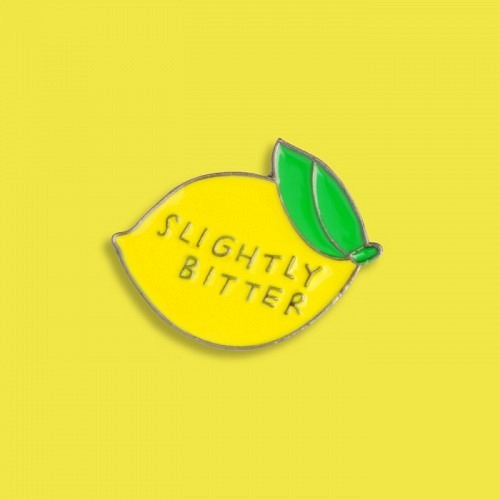 Pin «SLIGHTLY BITTER»