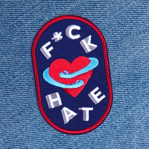 Patch «F*CK HATE»
