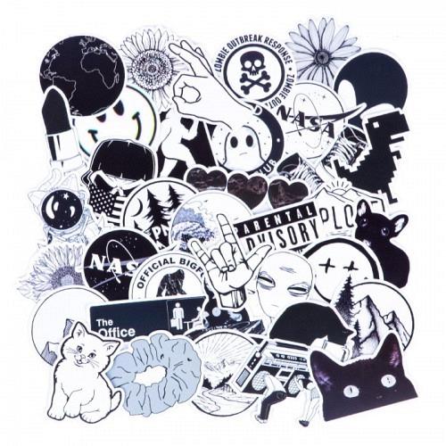 Sticker Set «B&W»
