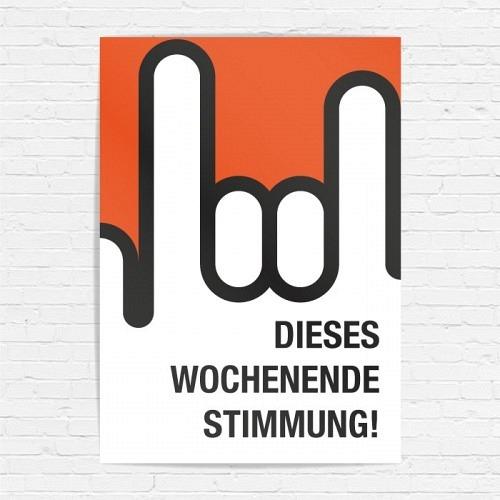 Poster «STIMMUNG!»