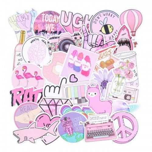 Sticker Set «ROSY»