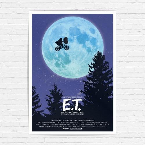 Poster «E.T.»