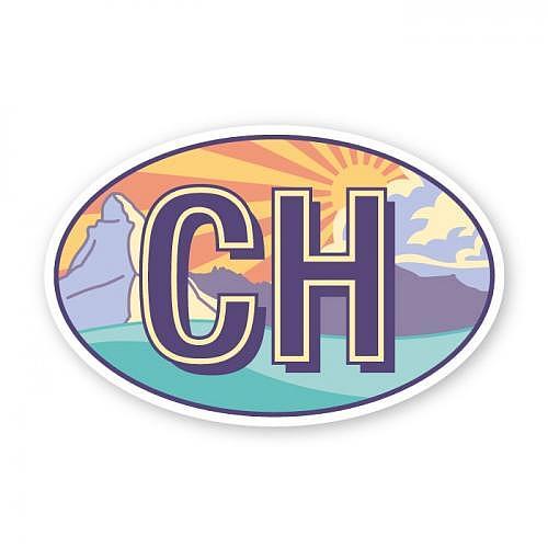 Sticker «CH»