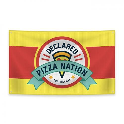 Drapeau «PIZZA»