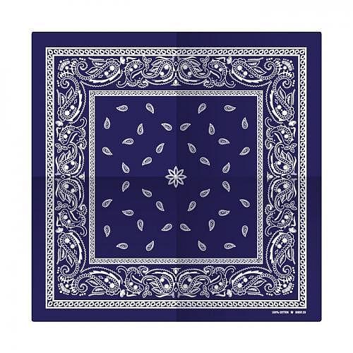 Bandana «PAISLEY-BLUE»