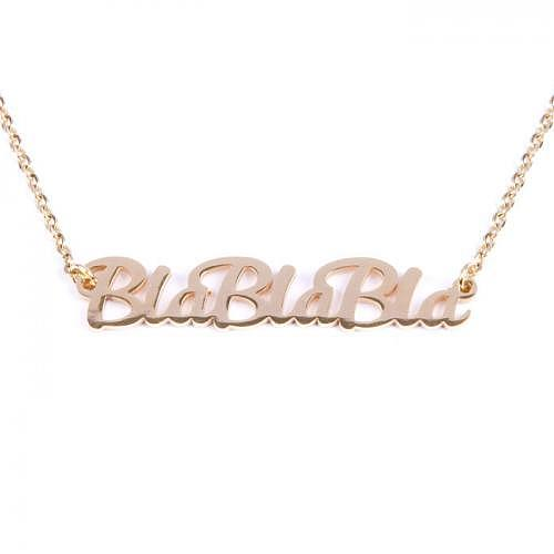 Halskette «BlaBlaBla»