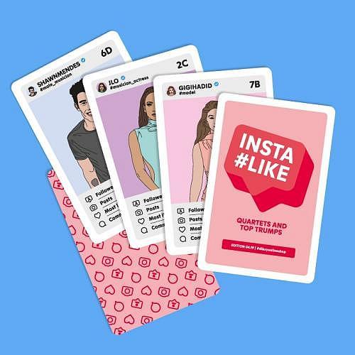 Kartenspiel «INSTALIKE»