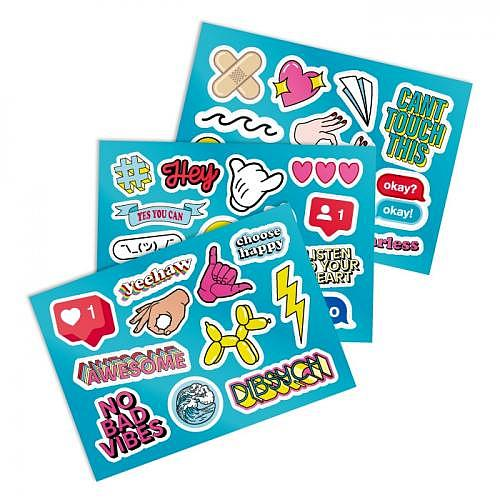 Mini Sticker Set «BOMB»