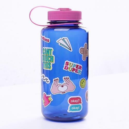 Flasche «BIGMOUTH BLUE»