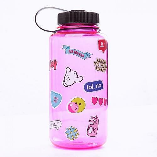 Flasche «BIGMOUTH PINK»